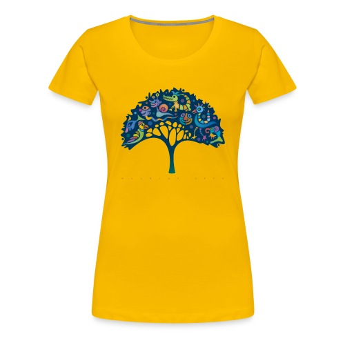 Narrenbaum-Girls-Shirt - Frauen Premium T-Shirt