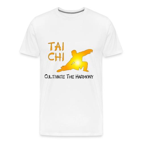 Tai Chi - Cultivate The Harmony T-Shirts - Men's Premium T-Shirt