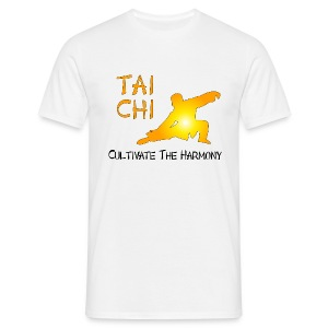 Tai Chi - Cultivate The Harmony T-Shirts - Men's T-Shirt