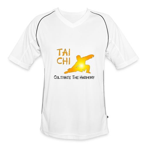 Tai Chi - Cultivate The Harmony T-Shirts - Men's Football Jersey