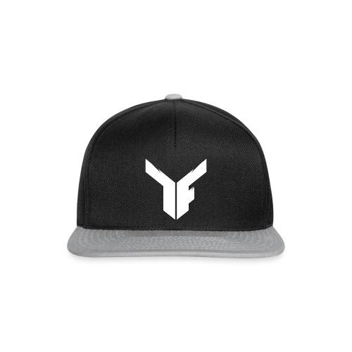 White Logo - Snapback - Snapback Cap