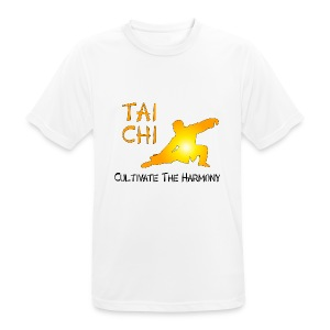 Tai Chi - Cultivate The Harmony T-Shirts - Men's Breathable T-Shirt