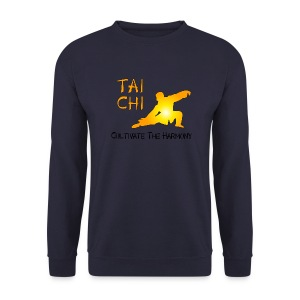 Tai Chi - Cultivate The Harmony Hoodies & Sweatshirts - Men's Sweatshirt
