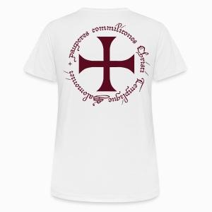 Tee shirt respirant Femme Ordre du Temple - T-shirt respirant Femme