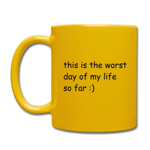 Comic Sans WORST DAY Mug - Full Colour Mug
