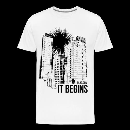It begins - Men's Premium T-Shirt