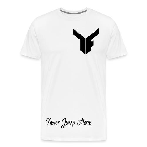 Black Logo - TShirt - Men's Premium T-Shirt