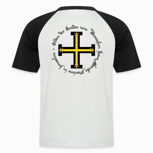Tshirt bicolore Homme Ordre Teutonique