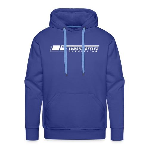 Hoodie | Blau - Männer Premium Hoodie