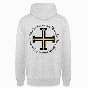 Sweat à capuche unisexe Ordre Teutonique - Sweat-shirt à capuche unisexe