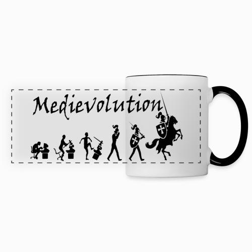 Mug Medievolution - Mug panoramique contrasté et blanc