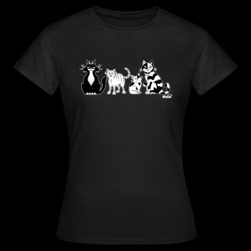 rescueryhmä mustavalko - Naisten t-paita
