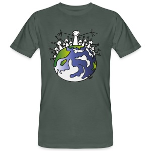 ELYX Earth - Bio  - Men's Organic T-shirt