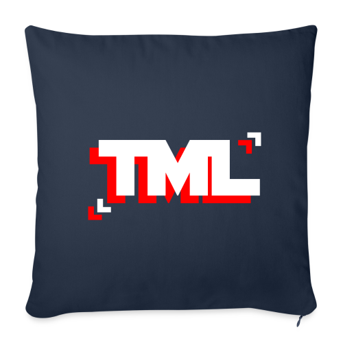 TML Dual Coloured Cushion - Sofa pillow cover 44 x 44 cm