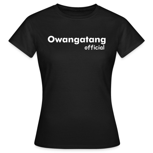 Owangatang Official | Black | Womens T-Shirt - Women's T-Shirt