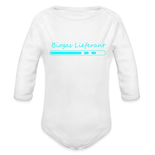 body - Baby Bio-Langarm-Body