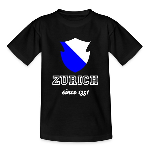 Zurich since 1351 - Kinder T-Shirt