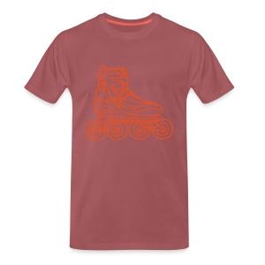 Inlineskates  - Männer Premium T-Shirt
