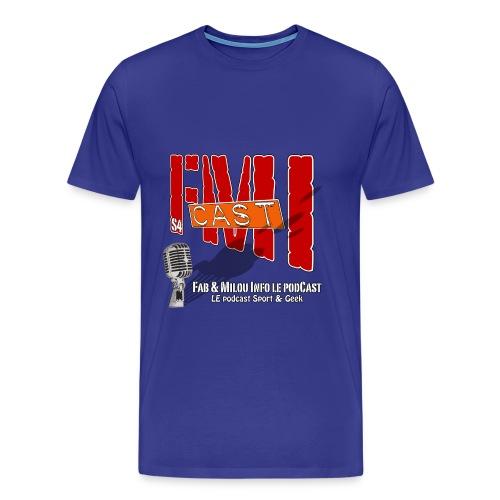 T-shirt Spreadshirt avec Logo Saison 4 - T-shirt Premium Homme