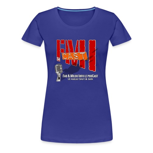 T-shirt Femme Spreadshirt avec Logo Saison 4 - T-shirt Premium Femme