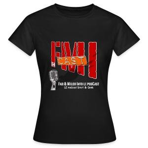 T-shirt Femme Basique avec Logo Saison 4 - T-shirt Femme