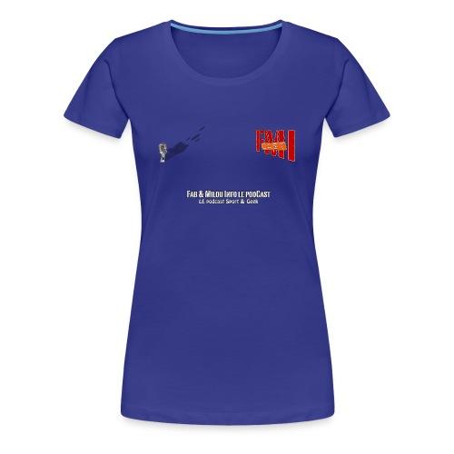 T-shirt Femme Spreadshirt petit Logo - T-shirt Premium Femme