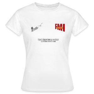 T-shirt Femme Basique petit Logo - T-shirt Femme