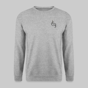 Sweat sans capuche Gris - Sweat-shirt Homme