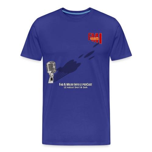T-shirt Spreadshirt Gros Micro - T-shirt Premium Homme