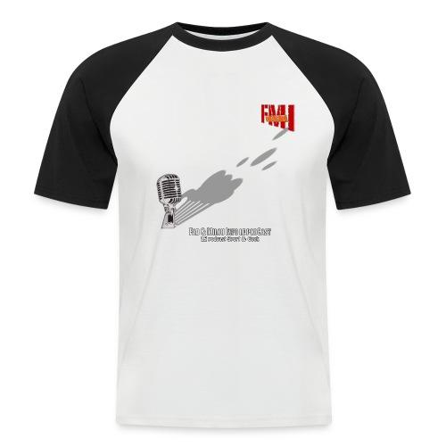 T-shirt Base ball Gros Micro - T-shirt baseball manches courtes Homme