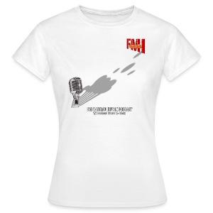 T-shirt Femme Basique Gros Micro - T-shirt Femme