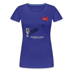 T-shirt Femme Spreadshirt Gros Micro - T-shirt Premium Femme