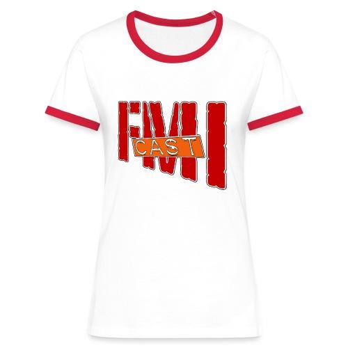 T-shirt Femme bi-color FMI Solo - T-shirt contrasté Femme