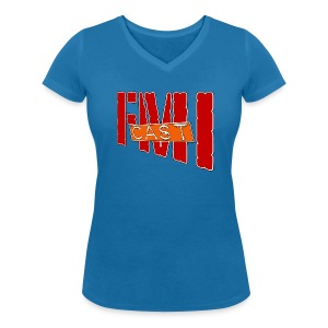 T-shirt Femme col V FMI Solo - T-shirt bio col V Stanley & Stella Femme