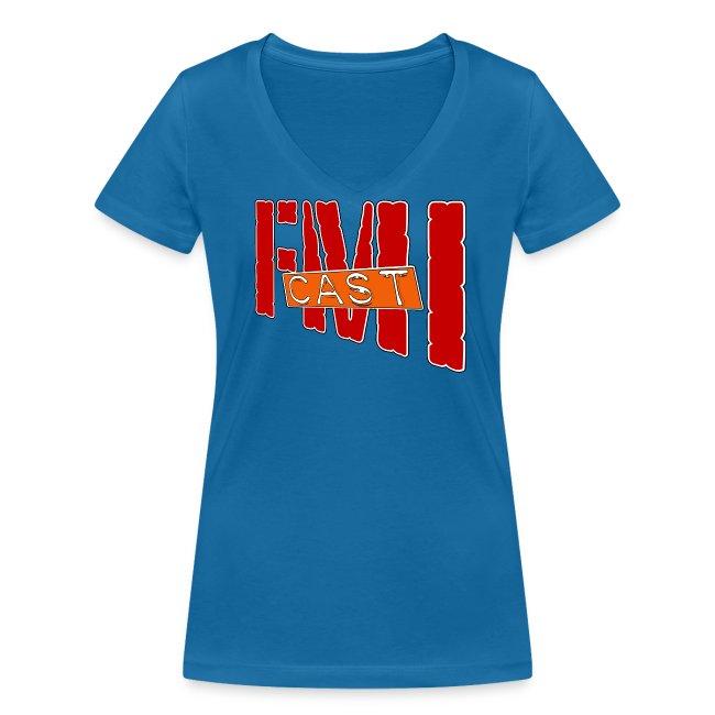 T-shirt Femme col V FMI Solo
