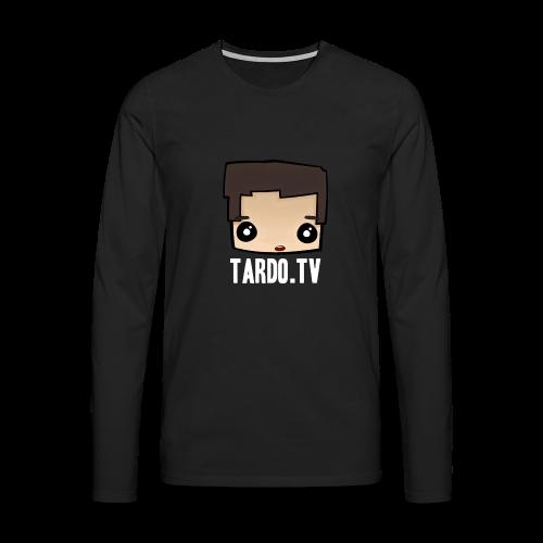 Tardo.TV Head Langarmshirt - Männer Premium Langarmshirt