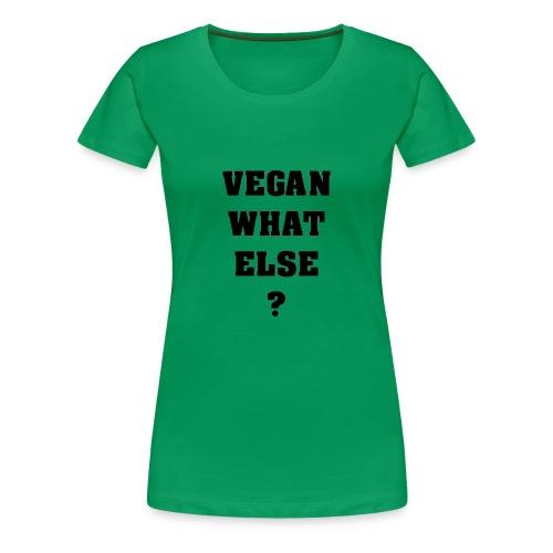 T-shirt VWE GreenF - T-shirt Premium Femme