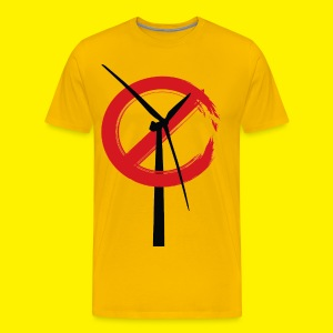 No Rame Wind Turbines T shirt - Men's Premium T-Shirt
