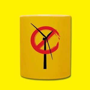 No Rame Wind Turbines Mug - Full Colour Mug