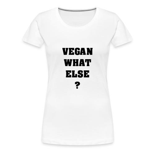 T-shirt VWE WhiteF - T-shirt Premium Femme