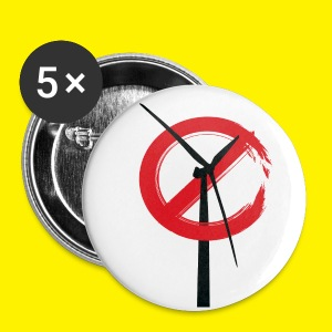 No Rame Wind Turbine Buttons - Buttons medium 32 mm