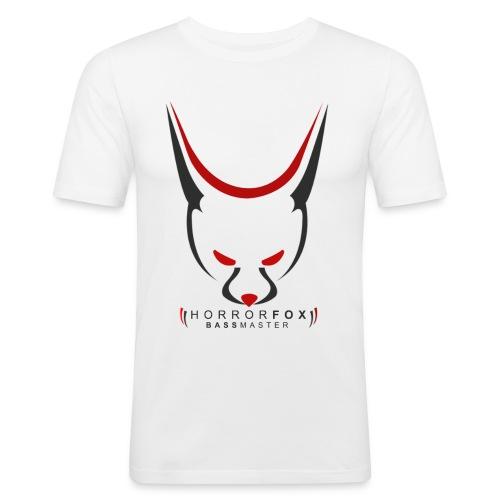 HorrorFox Slim-Fit Men's Tee [White] - Men's Slim Fit T-Shirt