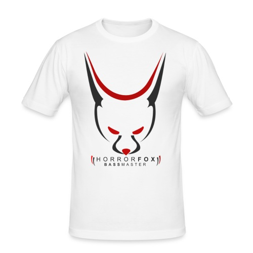 HorrorFox Slim-Fit Men's Tee [White] - Men's Slim Fit T-Shirt
