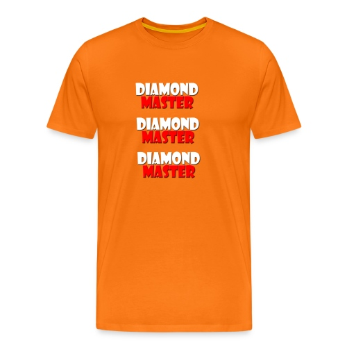 Diamond Master *3 T-shirt - Men's Premium T-Shirt