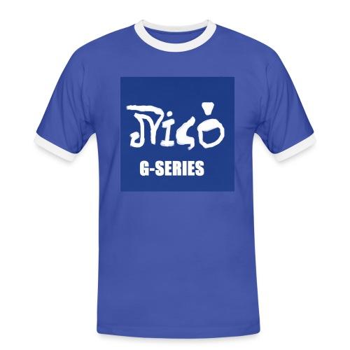 NICO G-SERIES Sportshirt - Männer Kontrast-T-Shirt