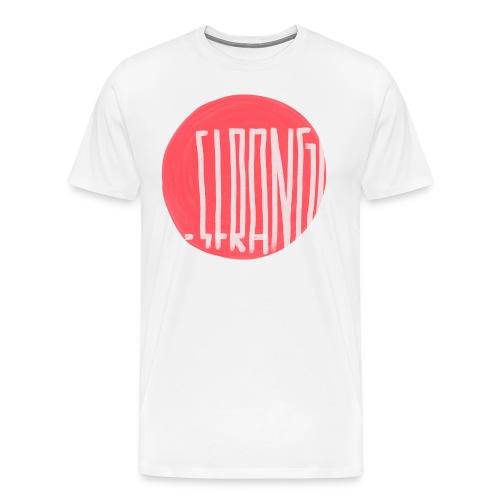 Strangeletter - Männer Premium T-Shirt