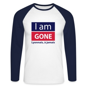 I am GONE Manches longues - T-shirt baseball manches longues Homme
