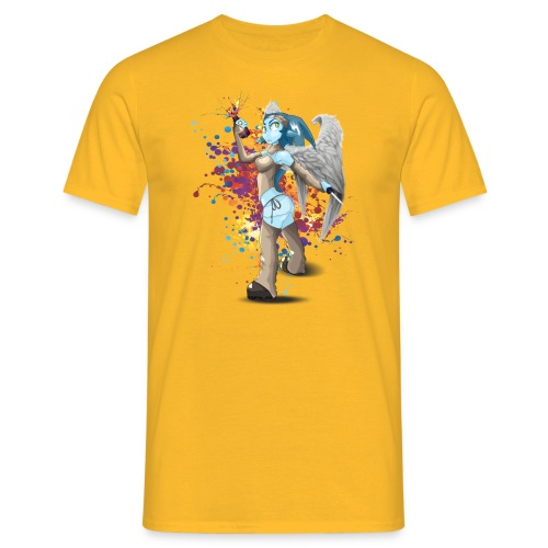 Splatch de couleurs - T-shirt Homme
