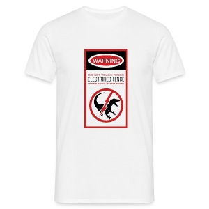 JW Warning Sign - Men's T-Shirt