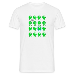 We are all green dots! - Männer T-Shirt